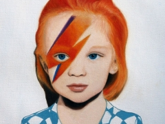 El pequeño Bowie